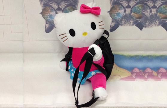 Balo Gấu Bông Hình Helo Kitty Doraemon Đáng Yêu
