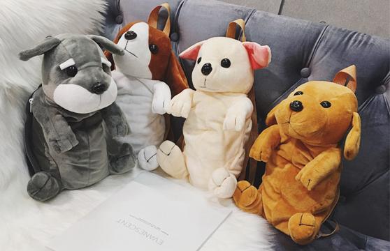 Balo Hình Chú Chó Đáng Yêu Cho Bé