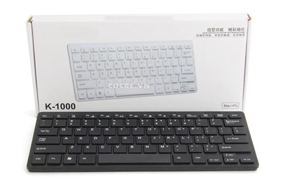 Bàn Phím Mini K-1000 Kiểu Dáng Apple