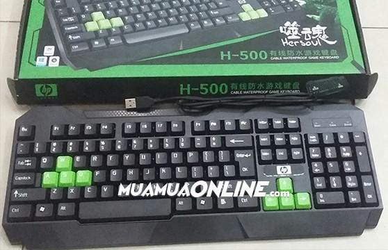 Bàn Phím Hp H-500 Cổng Usb Chính Hãng