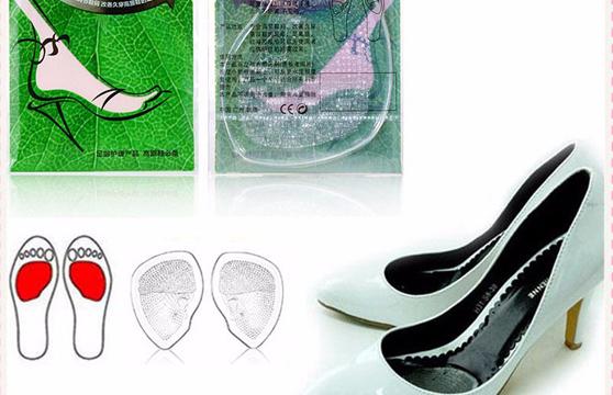 Bộ 2 Miếng Lót Mũi Giày Silicon Cao Cấp