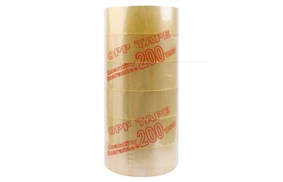Bộ 6 Cuộn Băng Keo Trong 200 Yard Loại 2kg