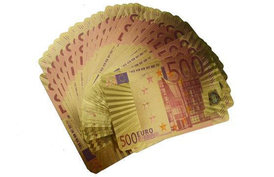 Bộ Bài Tây Mạ Vàng Euro Cao Cấp