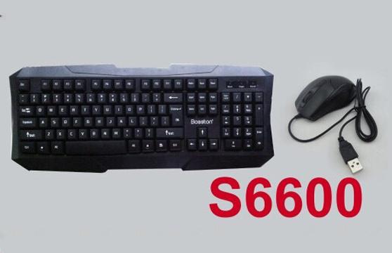 Bộ Bàn Phím Và Chuột Bosston S6600