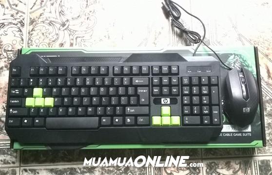 Bộ Bàn Phím Và Chuột Hp-H8000 Chính Hãng