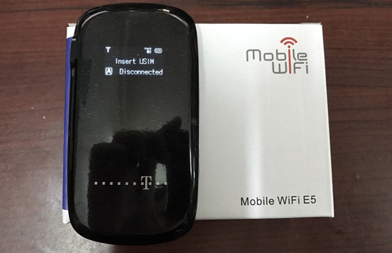 Bộ Phát Wifi Từ Sim 3G Mobile Wifi E5 Có Lcd
