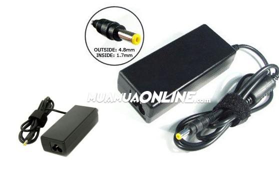 Bộ Sạc Laptop Adapter Hp 18.5V 3.5A Đầu Vàng