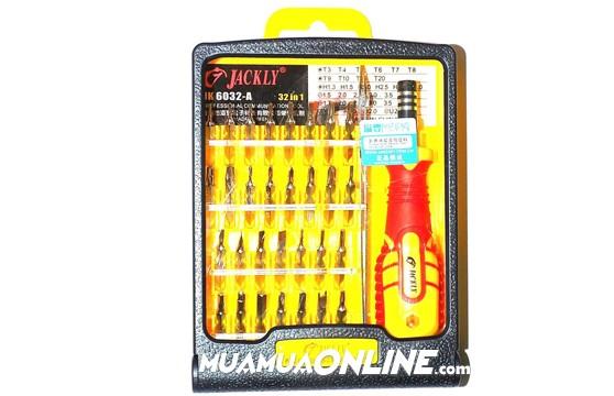 Bộ Tua Vít Đa Năng 32 Đầu Jackly Jk6032 Cao Cấp Chính Hãng