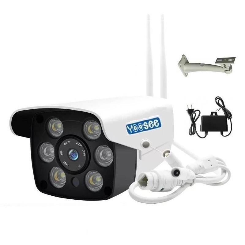 Camera Ngoài Trời Yoosee 216S Full HD Hồng Ngoại Quay Đêm Chống Trộm, Chống Nước Tốt Kèm Adapter Và Giá Đỡ