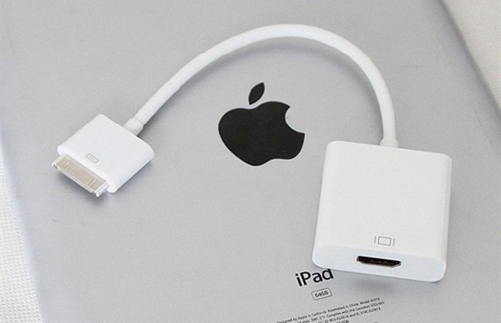 Cáp Cho Ipad 2, 3, Iphone 3,4 Ra Hdmi Full Hd