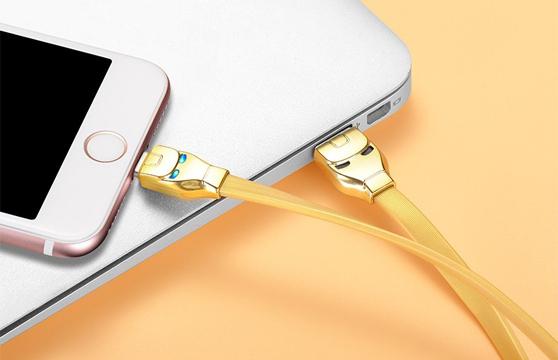Cáp Sạc Lightning Hoco U14 Cho Iphone 1,2M
