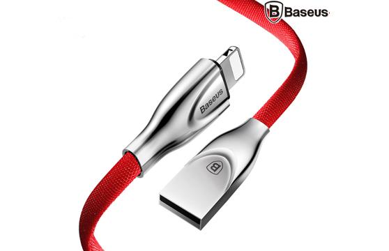 Cáp Sạc Lightning Baseus Zinc Alloy Metal Cho Iphone 6/ 7/ 8/ Iphone X