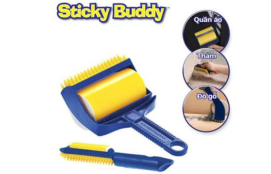 Cây Lăn Khử Bụi Quần Áo, Ghế Sofa, Chăn Mền Sticky Buddy Cao Cấp