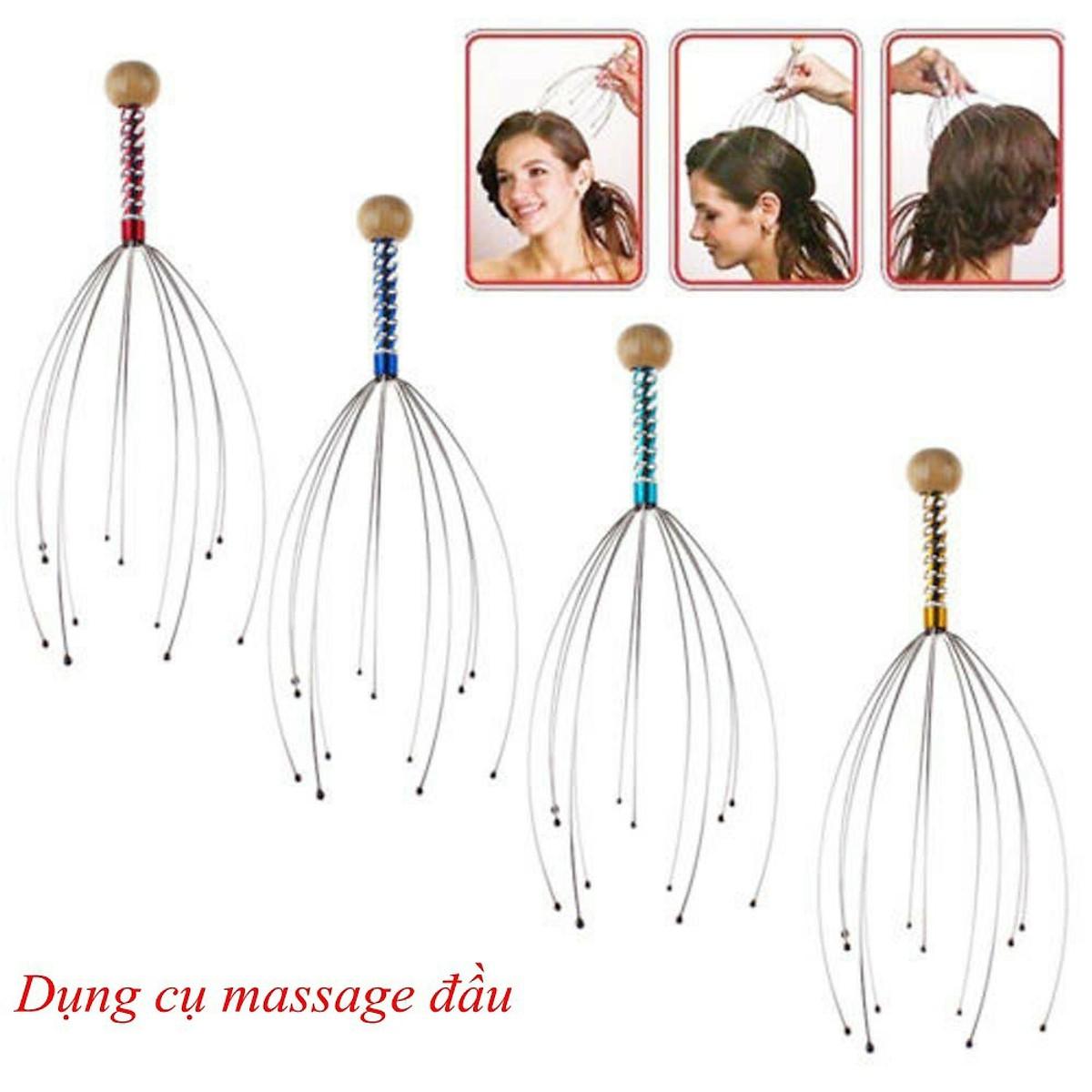 Cây Massage Đầu Bạch Tuộc Giúp Thư Giãn Giảm Stress