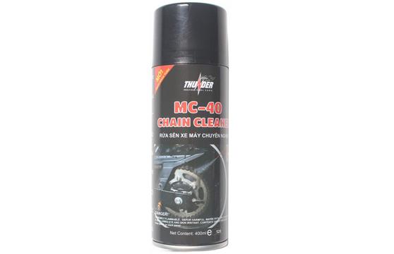 Chai Xịt Vệ Sinh Dây Sên Thunder Chain Cleaner MC-40 400ml Cao Cấp