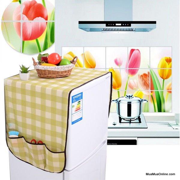 Tấm Phủ Tủ Lạnh Chống Thấm Vải Không Dệt