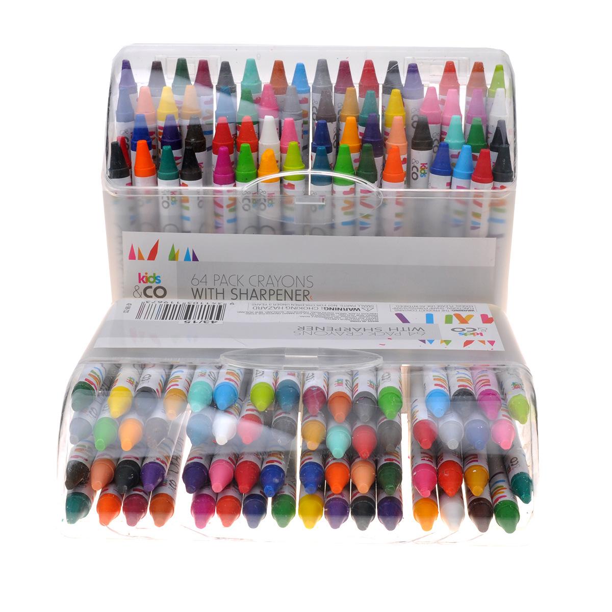 Bộ 64 Bút Tô Màu Tiện Dụng Cho Bé