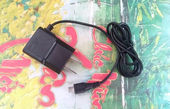Cục Sạc Đen Dây Liền Cổng Micro USB Dây Dài 1m Tiện Lợi