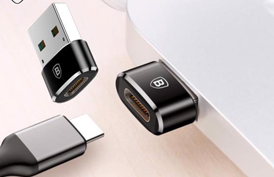 Đầu Chuyển Usb Type A Sang Usb Type C 3.1 Baseus Tốc Độ Cao (Usb Type C To Type A Adapter/ Converter)