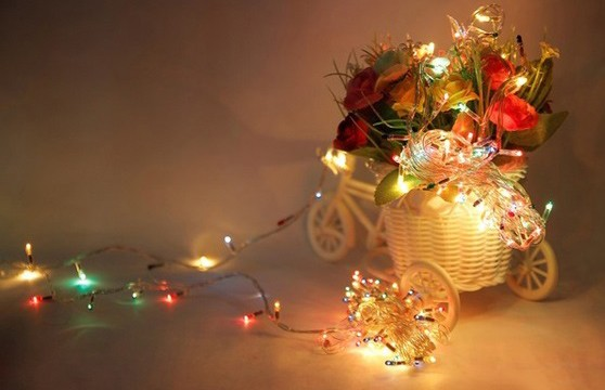 Bộ 4 Dây Đèn Trang Trí Noel Và Lễ Tết Đổi Màu Dây Dài 5M