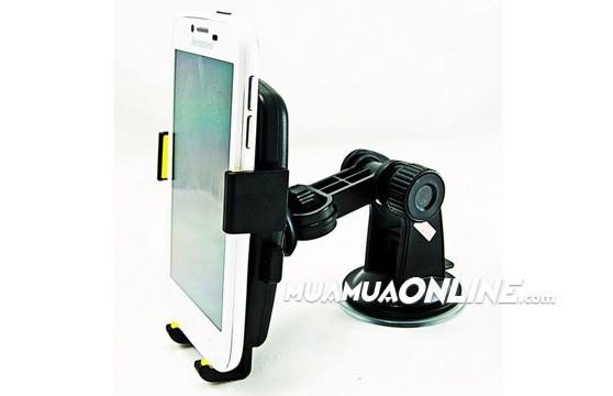 Đế Hít Kẹp Điện Thoại Cho Xe Hơi Ô Tô Xoay 360 Độ Mobile Phone Holder