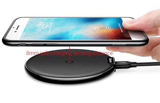 Đế Sạc Không Dây Baseus Ix Lv163 Cho Apple Iphone 8/ Iphone X / Samsung S8/ S9/ Note 8
