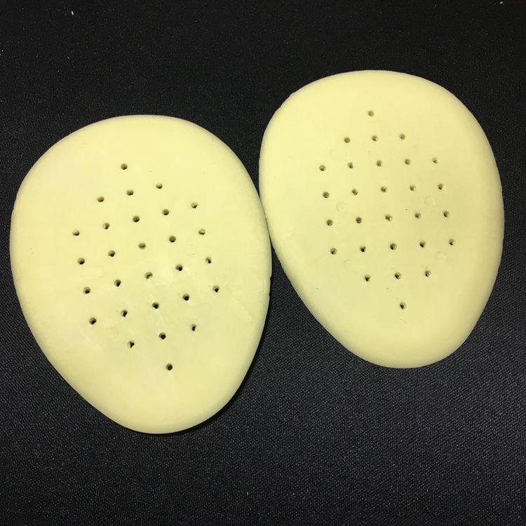 Bộ 2 Miếng Lót Mũi Giày Silicon Tiện Lợi (Vàng)