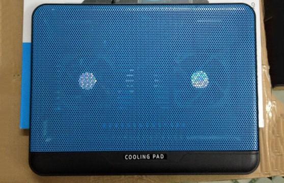 Đế Tản Nhiệt Laptop Cooling Pad N128 2 Quạt