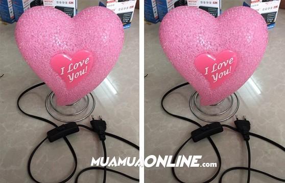Đèn Hình Trái Tim I Love You Thời Trang Dùng Điện 220V