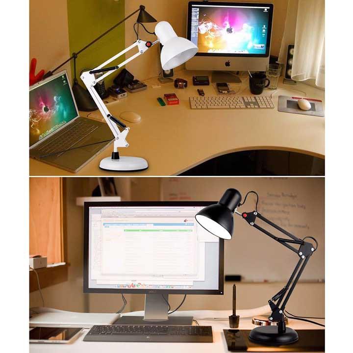 Đèn Desk Lamp Để Bàn Có Đế Xoay 360 Điều Chỉnh Mọi Góc Độ