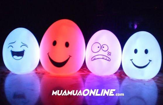 Đèn Led Hình Quả Trứng 7 Màu Cực Đẹp