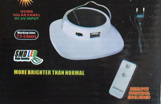 Đèn Treo Trần Nhà Hh 5015 Có Remote Dùng Năng Lượng Mặt Trời Và Pin Sạc