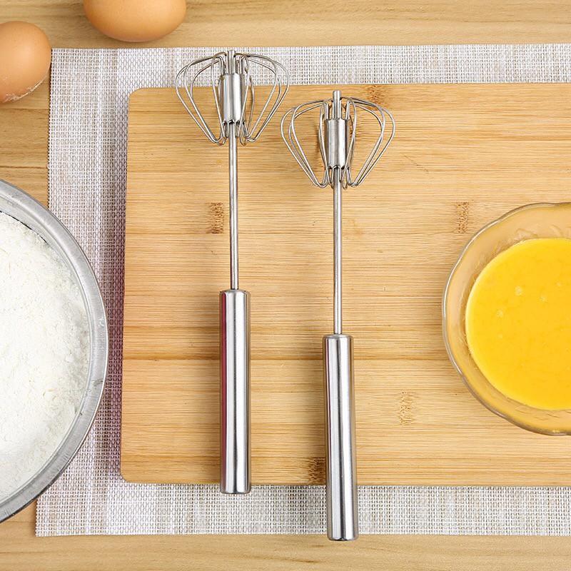 Dụng Cụ Đánh Trứng Inox Thông Minh Dài 25cm
