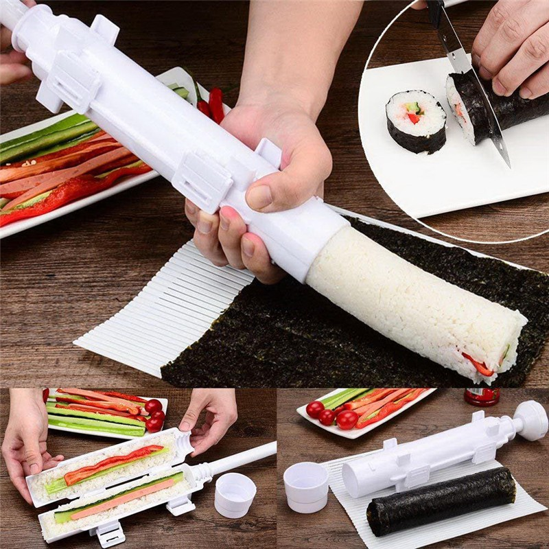 Dụng Cụ Làm Sushi Dạng Ống Tiện Lợi