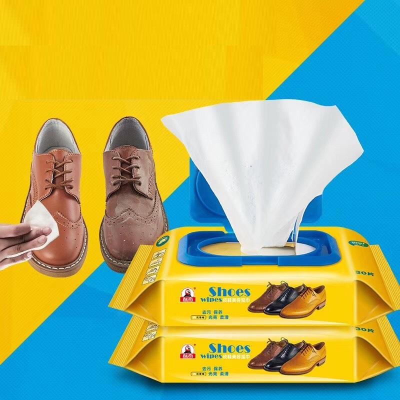 Gói 12 Miếng Khăn Lau Giày Sneaker Siêu Sạch