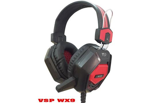 Headphone Chuyên Game Vision Vsp Wx9 Led