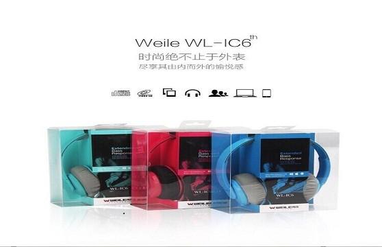 Tai Nghe Headphone Weile Wl-Ic6 Chính Hãng