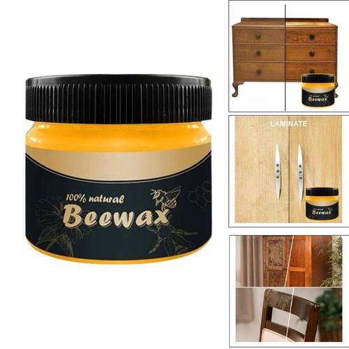 Hộp Sáp Ong BeeWax Giúp Đánh Bóng Sàn Gỗ, Đồ Gỗ, Chống Thấm Nước