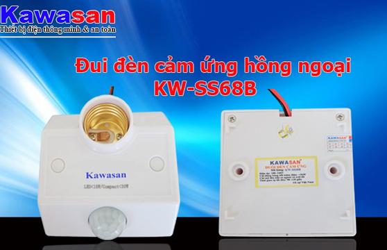 Đui Đèn Cảm Ứng Hồng Ngoại Kawasan KW-SS68B Cao Cấp