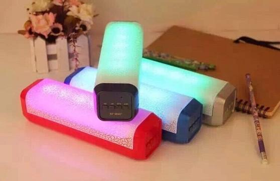 Loa Nghe Nhạc Bluetooth Jhw-J9 Đèn Led 7 Màu