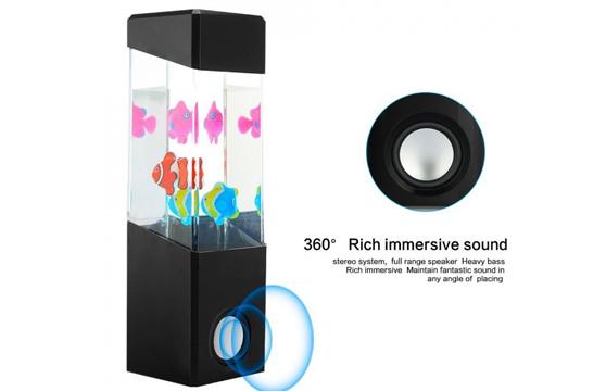 Loa Bluetooth Nhạc Nước Có Cá