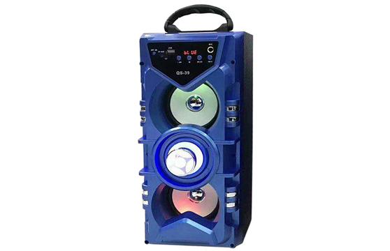Loa Bluetooth Karaoke Xách Tay Di Động Qs-39 Tặng Kèm Mic Cực Hay