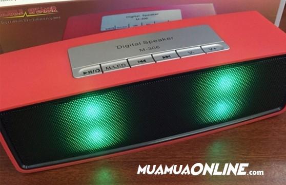 Loa Nghe Nhạc Bluetooth M-306 Kiểu Dáng Bose Led 7 Màu