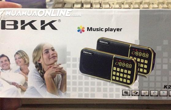 Loa Nghe Nhạc Usb Thẻ Nhớ Fm Bkk K20