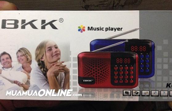 Loa Nghe Nhạc Usb Thẻ Nhớ Fm Bkk K6