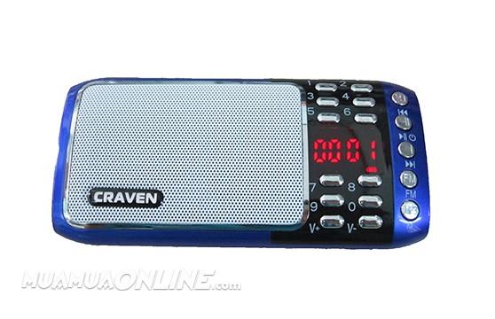 Loa Nghe Nhạc Usb Thẻ Nhớ Fm Craven Cr-18