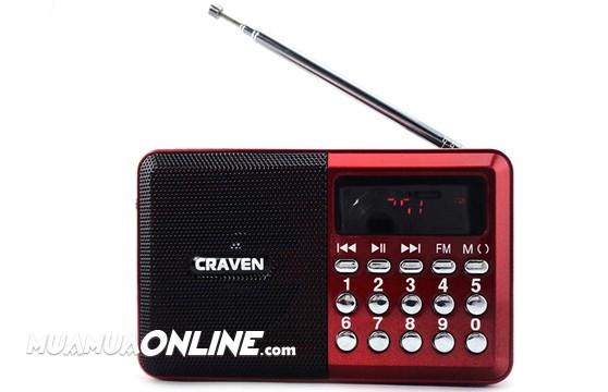 Loa Nghe Nhạc Thẻ Nhớ Fm Craven Cr-26