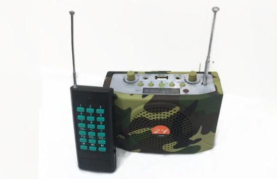 Loa Trợ Giảng E-898 38W Rằn Ri Quân Đội (Tặng Túi Đeo Loa Cao Cấp)