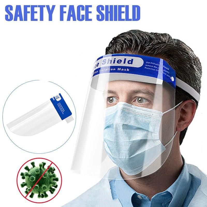 Mặt Nạ Bảo Vệ Chống Giọt Bắn, Chống Bụi, Vi Khuẩn Face Shield (Xanh)