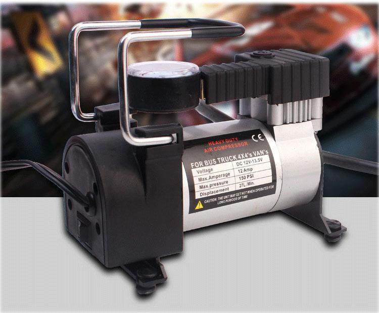 Máy Bơm Lốp Xe Ô Tô / Xe Máy Air Compressor 1063 Nguồn 12V 150psi